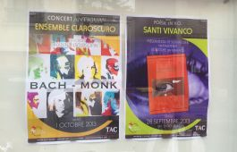 Carteles poesia Santi Vivanco